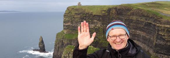 Pater Brandl grüßt aus Irland