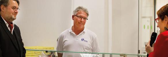 Küchenchef Gerhard Christian