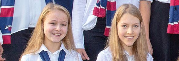 Viktoria & Valerie aus der 6a