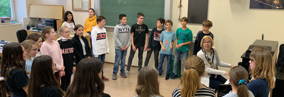 Titelbild Musik in der Klasse 2a